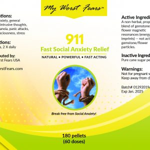 911: Fast Social Anxiety Relief