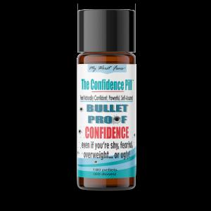 180 Bulletproof Confidence Pills